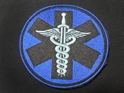 【九號工作室】湯姆克蘭西遊戲系列 DOC 醫療章 臂章/刺繡章(背面帶魔鬼沾公母) P-55