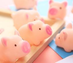 2019 粉紅小豬 捏捏樂 捏捏叫 迷你小豬 手壓發豬叫 解壓玩具 壓壓樂 兒童玩具 創意趣味