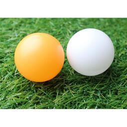 ☆芊芊☆現貨4cmPE材質白色橘黃色公司行號春節尾牙婚禮遊戲道具贈品活動抽獎球摸彩球圓球反應訓練多色球廣告彩色球遊戲球