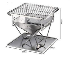 ☆大角羊(牧野)☆【X-MINIPRO】CAMPINGMOON柯曼 日式焚火台(小) 燒烤爐烤肉架烤肉爐營火台