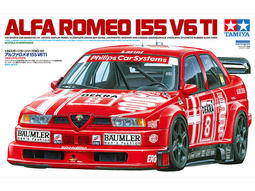 HMM榔頭模型TAMIYA 1/24 ALFA ROMEO 155 V6 TI 賽車模型$1090(24137)