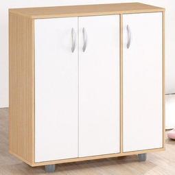 《東京居家》H-白橡配白三門五層鞋櫃/ 鞋架 置物櫃 收納櫃 櫥櫃 台灣製C-803D-9ML