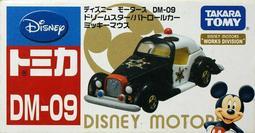 【積車店】Tomica Disney Motors Mickey DM-09 2014夢幻米奇警察車