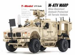 【 軍模館】T-MODEL - 1/72 M1240 M-ATV防地雷反伏擊車 烏鴉自動武器站
