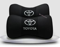Toyota豐田凱美瑞榮放普拉多漢蘭達護頸枕靠枕卡羅拉雷淩汽車真皮頭枕