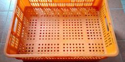 置物籃置物箱 貨物箱貨物籃 塑膠籃 可疊式耐用 2手良品出清