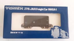 [中古良品] Tomix 2715 国鉄貨車 WARA-1