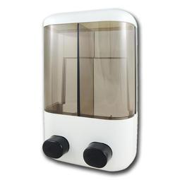 手動雙槽給皂機(500mlx2) GM202M 附發票/台灣製/壁掛/民宿公司商用【綠大師Green Master】