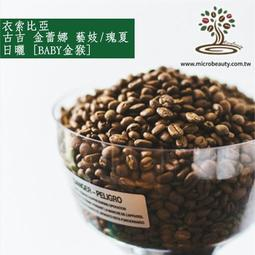 [微美咖啡]-1磅850元,古吉 金蕾娜 藝妓/瑰夏 日曬(衣索比亞)淺焙咖啡豆,滿500元免運新鮮烘培