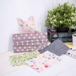 💓買10送1💓MIT台灣製口罩套 醫療口罩保護套 全棉 透氣 成人/兒童款【RS1061】