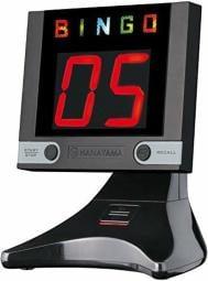 The Digbingo Z (Black) Electronic Bingo Machine by Hanayama