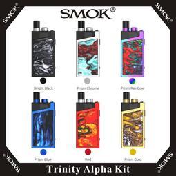 【A.S.C】原廠正品 SMOK Trinity Alpha Kit 非DNA 蘭花 動脈 小精靈