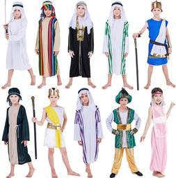 萬圣節希臘服裝男女演出阿拉丁王子中東迪拜阿聯酋表演阿拉伯衣服