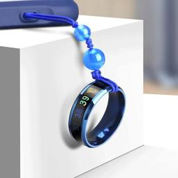 手機掛飾 短款指環扣智能感溫鈦鋼吊環鍊女情侶掛扣蘋果掛件男潮牌 -