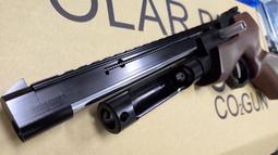 【阿爾斯工坊】超取免運~PB PB2 進化版 SP99 寬軌魚骨實木托 CO2短版狙擊槍,手槍-FSCLPB2