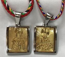 【弘真宗教文物】媽祖佛牌項鍊、觀世音菩薩佛牌項鍊
