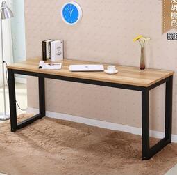長條桌簡易長桌子雙人辦公桌靠墻電腦桌書桌寫字臺定做高腳桌  露天拍賣