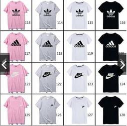 秒殺價 愛迪達 adidas / Nike / Puma/短袖T恤 三葉草短袖短T 短袖 男女款短袖 情侶裝 圓領T恤