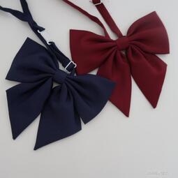 領結純色大領結蝴蝶結日本學生校服JK制服水手服配件