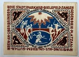 """""""預購"""" 1921年德國臨時貨幣/鈔票(布鈔/亞麻布/絲綢布)"""