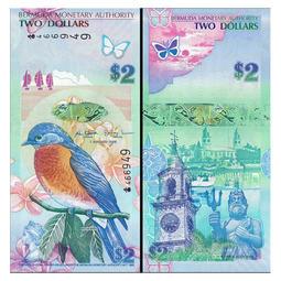 百慕達知更鳥紙鈔
