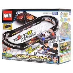 【凱米玩具店】TOMICA GO GO 多美小汽車 激速賽車場