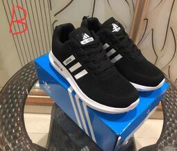 【千品】Adidas2019新款三條槓 男女鞋 情侶款簡版 跑步鞋  運動鞋男鞋 休閒鞋
