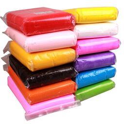 《遇見》超輕粘土大包裝500g12色太空彩泥黏土兒童安全無毒橡皮泥500克